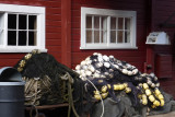 An old cannery holds a museum, stores etc.