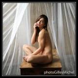 Naked under a veil