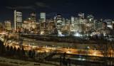 Calgary City Lights