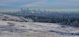 Calgary City from Edgemont