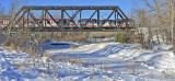 C-Train over Fish Creek