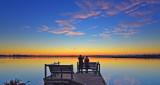 Lake Geogrup Autumn Sunrise