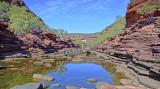 Z-Bend Gorge - Murchison River.