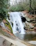 Waterfalls On garden Creek, Stone Mountain State Park NC.