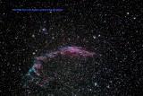 NGC 6992 Eastern Veil Nebula.