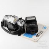 06 Minolta X-300 35mm SLR Film Camera Body with Auto 200X Flash.jpg