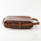05 Vintage Brown Leather Case for Folding Camera - Hand Sewn Made in England.jpg