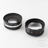 02 Yashica Electro 35 Telephoto f4 & Wide Angle f4 Auxiliary Lens Kit with Case Viewfinder Caps and Instructions.jpg