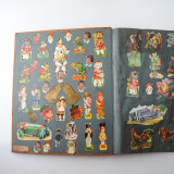 05 2 Vintage 1937 Scrap Books Albums with Stickers Animal Dogs Cats Useless Eustace.jpg