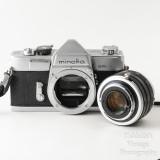 08 Minolta SR-1 SLR Camera with Rokkor 55mm f1.8 PF Lens + Extras VGC.jpg