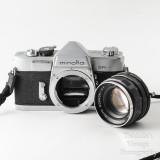 07 Minolta SR-1 SLR Camera with Rokkor 55mm f1.8 PF Lens + Extras VGC.jpg