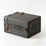 04 Kodak Brownie No. 2 Cartridge Hawk-Eye Model B 120 Roll Film Box Camera - Working.jpg
