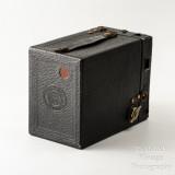 03 Kodak Brownie No. 2 Cartridge Hawk-Eye Model B 120 Roll Film Box Camera - Working.jpg
