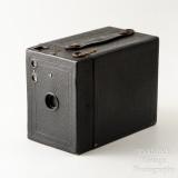 02 Kodak Brownie No. 2 Cartridge Hawk-Eye Model B 120 Roll Film Box Camera - Working.jpg