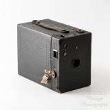 01 Kodak Brownie No. 2 Cartridge Hawk-Eye Model B 120 Roll Film Box Camera - Working.jpg