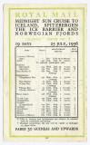 Steamer Atlantis at Spitzbergen Colour Postcard Royal Mail Lines + 1936 Advert 004.jpg