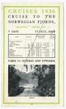Steamer Atlantis at Spitzbergen Colour Postcard Royal Mail Lines + 1936 Advert 003.jpg