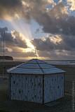 A Foz do Arelho em 7 de janeiro de 2003