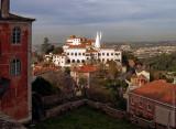 Sintra e o Palácio Nacional em 6 de dezembro de 2001