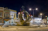 Vista Nocturna da Praça da República