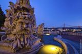 O Jardim Olavo Bilac e o Miradouro das Nacessidades
