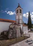 Igreja de Santa Maria Madalena, paroquial de Alcobertas e megálito-capela adjacente (IIP)