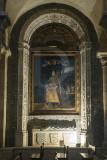 Capela de Santa Isabel com o túmulo de D. Tibúrcio