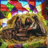Women of Nazaré (Window Painting)