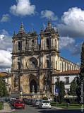 O Mosteiro de Alcobaça em 17 de Outubro de 2002