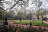 O Parque D. Carlos em 5 de abril de 2017