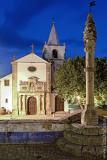 O Pelourinho e a Igreja de Santa Maria