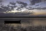 A Lagoa de Óbidos em 1 de julho de 2018