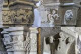 Capitéis da Igreja de Santiago de Belmonte