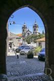 A Porta dos Ferreiros, o Pelourinho e  a Igreja da Misericórdia