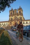 O Mosteiro de Alcobaça em 16 de Janeiro de 2003
