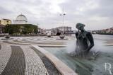 Praça D. João II (Esculturas de José Rodrigues)