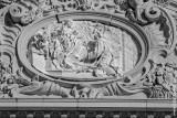 Santo António em Adoração à Virgem e ao Menino, por Carlo Monaldi