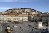 A Praça da Figueira e o Castelo