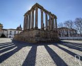 MONUMENTOS DE ÉVORA - Templo Romano