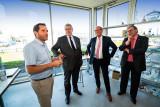 CVDK Willibrord van Beek op werkbezoek in Vianen