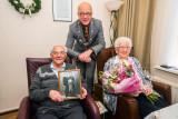 70 Jarig huwelijk echtpaar van Moore in Haaften