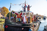 Sint Nicolaas landt in Vrijstad  Vianen
