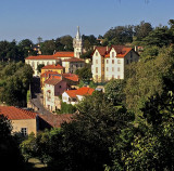 Sintra, Portugal and its Palácio Nacional