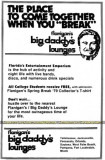 1979 - ad for Spring Break at Flanigan's / Big Daddy's Lounges