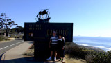 November 2016 - Don and Karen Boyd at Cabrillo National Monument, Point Loma, California