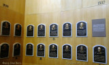June 2015 - 1937 and 1939 player plaques in the Baseball Hall of Fame
