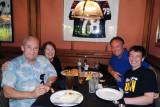 July 2015 - Don, Karen, cousin Mitch Bassi and his son John Bassi