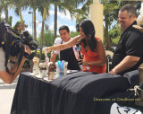May 2017 - my buddy Sef Gonzalez (far right) and Roxy Vargas from NBC6 Miami recording a segment that aired the next day
