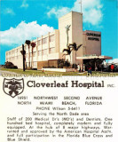 1960's - Cloverleaf Hospital (later Parkway General and then Jackson North) at the Golden Glades Interchange