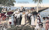 1913 - opening of the Collins Bridge in Miami to Miami Beach - longest wooden bridge in the world